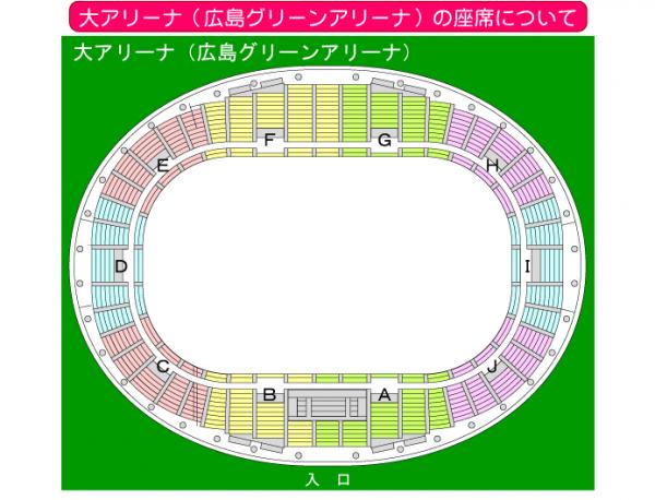 広島 嵐 アリーナツアー 座席表 2016